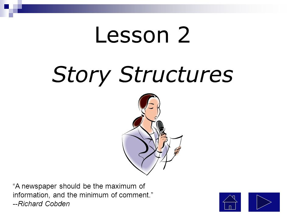 Lesson 2 Story Structures