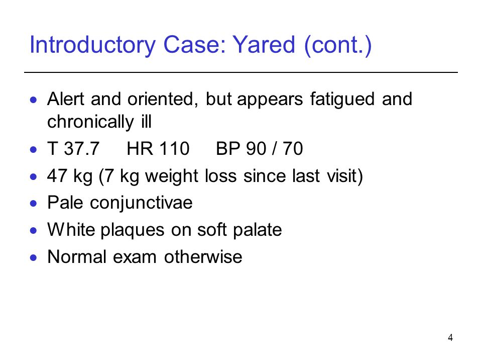 Introductory Case: Yared (cont.)