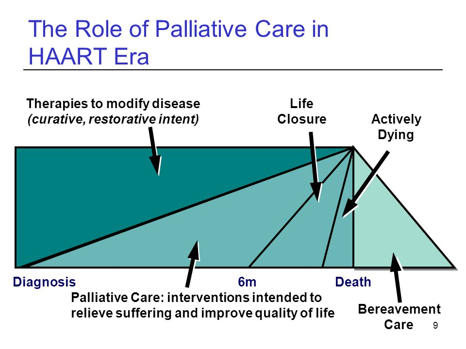 The Role of Palliative Care in HAART Era