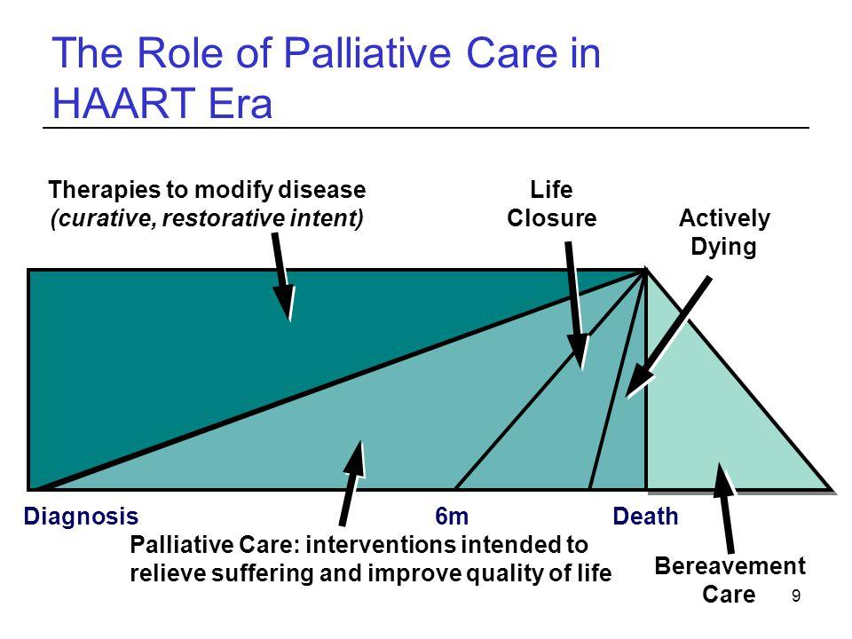 The Role of Palliative Care in HAART Era