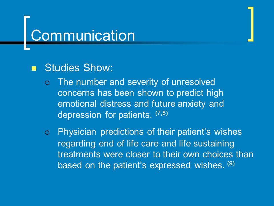 Communication Studies Show: