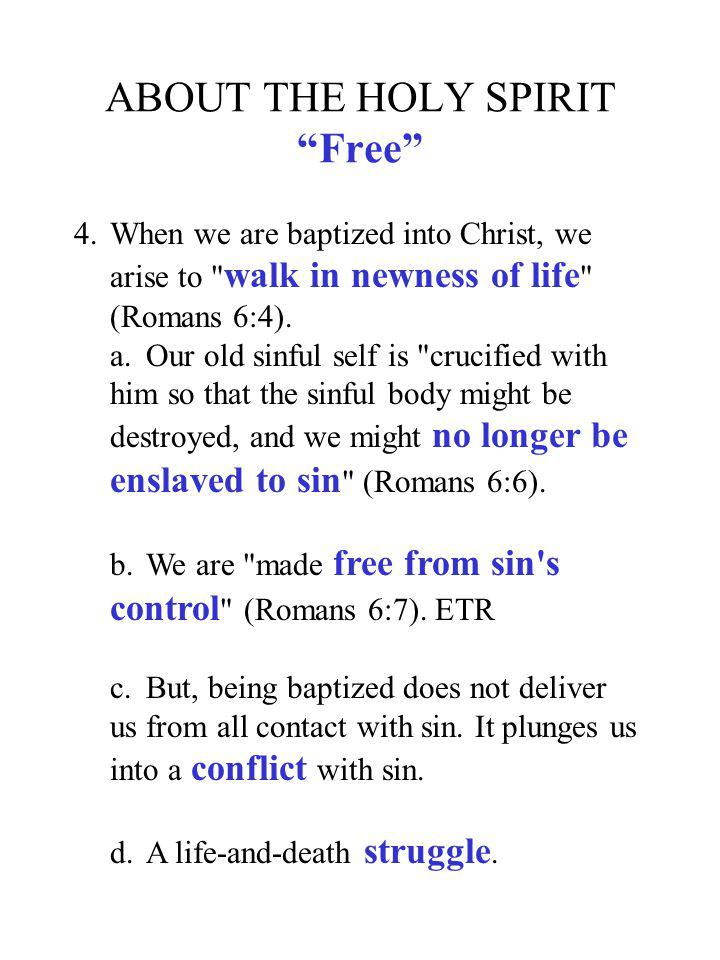 ABOUT THE HOLY SPIRIT Free