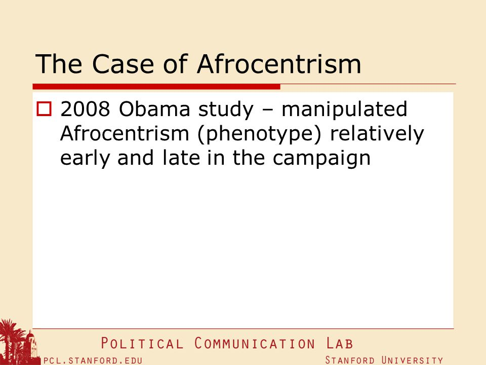 The Case of Afrocentrism