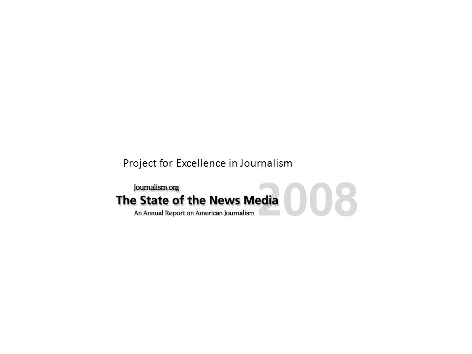 Project for Excellence in Journalism