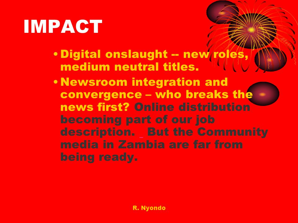 IMPACT Digital onslaught -- new roles, medium neutral titles.