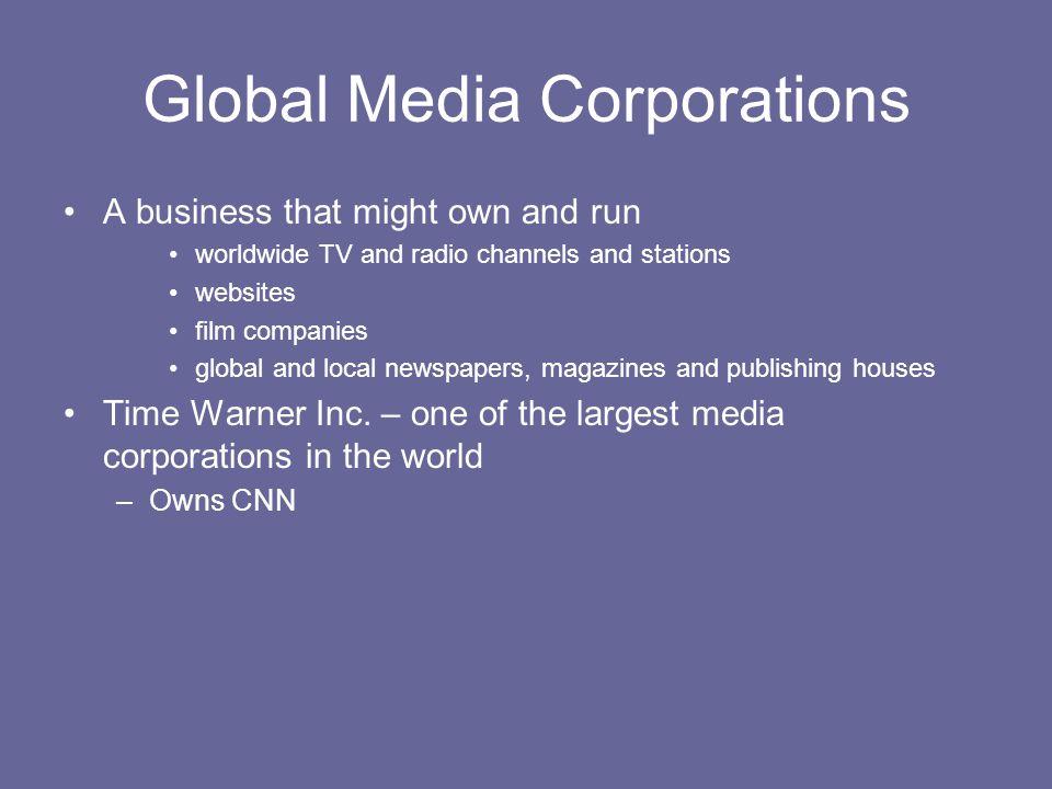 Global Media Corporations