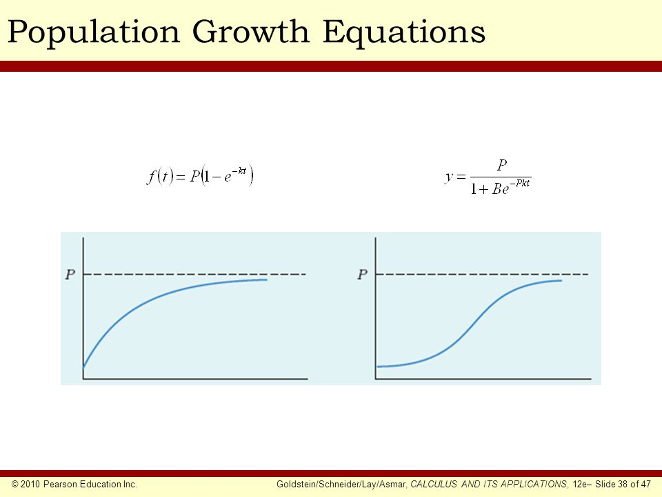 Population Growth Equations