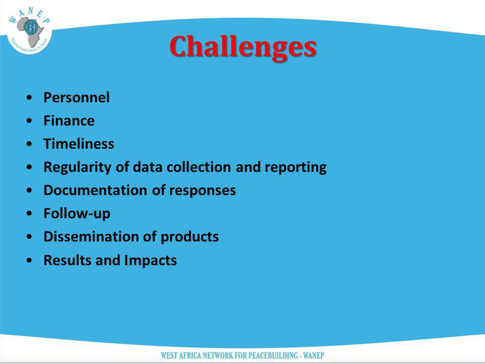 Challenges Personnel Finance Timeliness