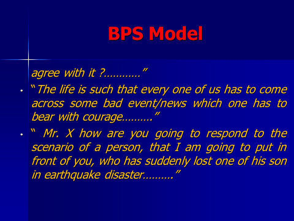 BPS Model agree with it …………