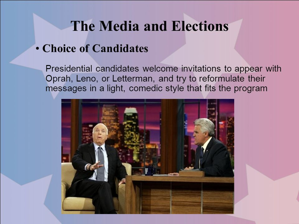 The Media and Elections