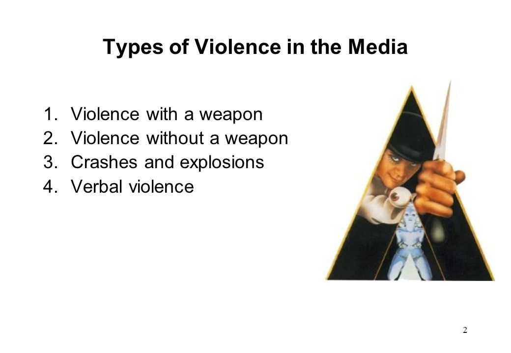 Types of Violence in the Media