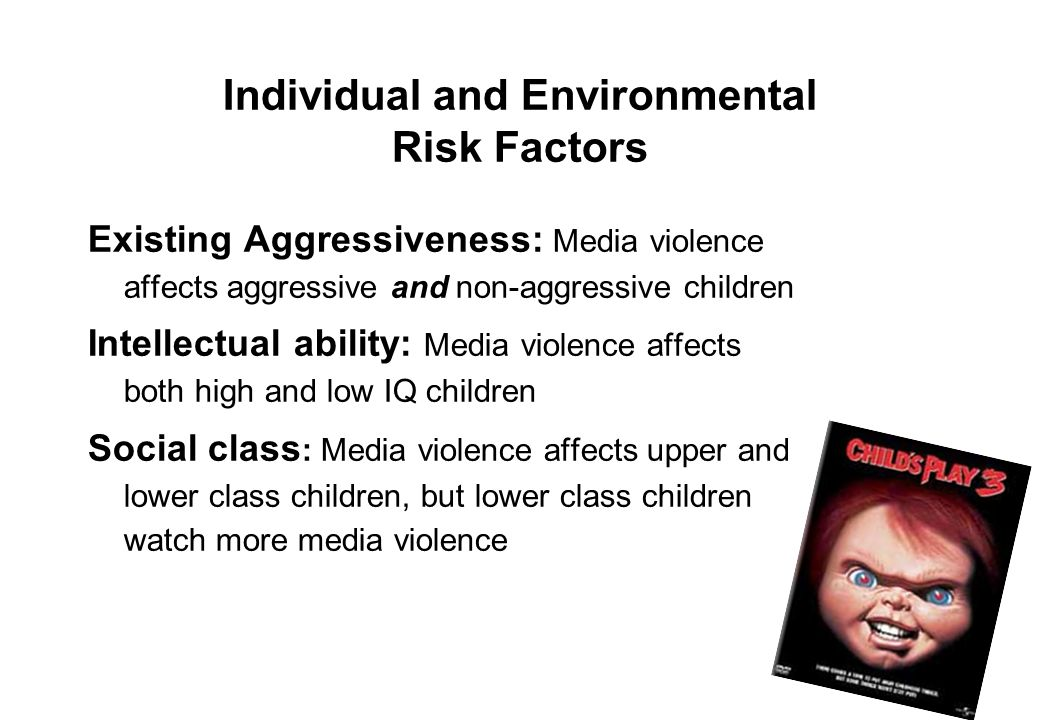 Individual and Environmental Risk Factors