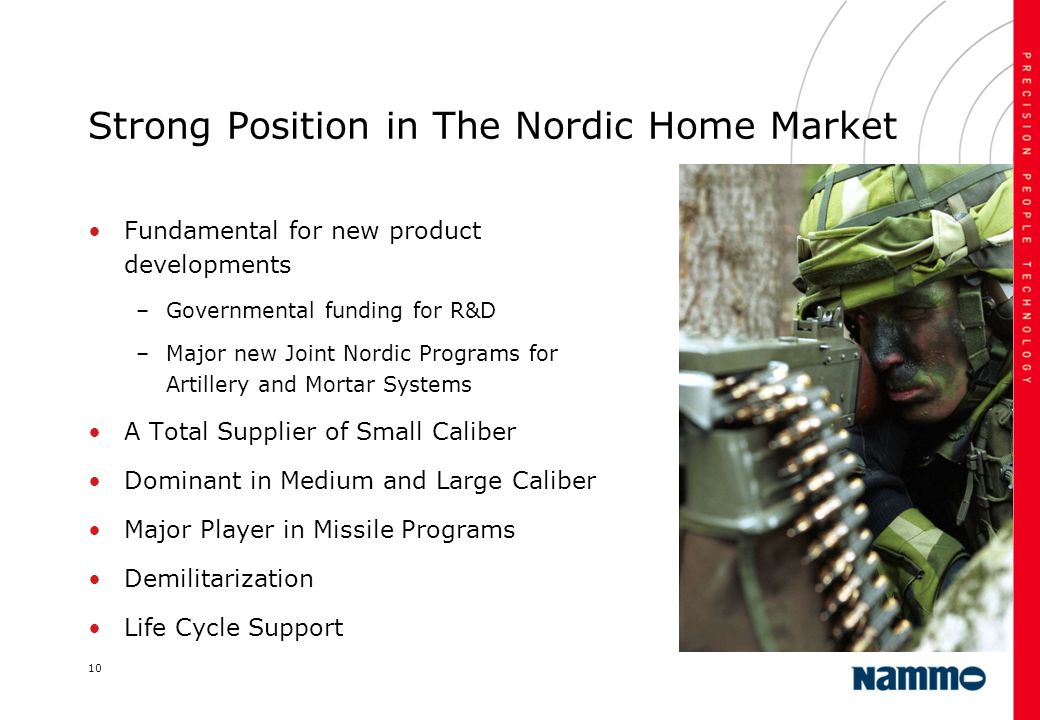 Strong Position in The Nordic Home Market