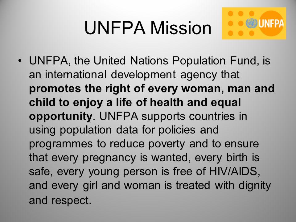 UNFPA Mission