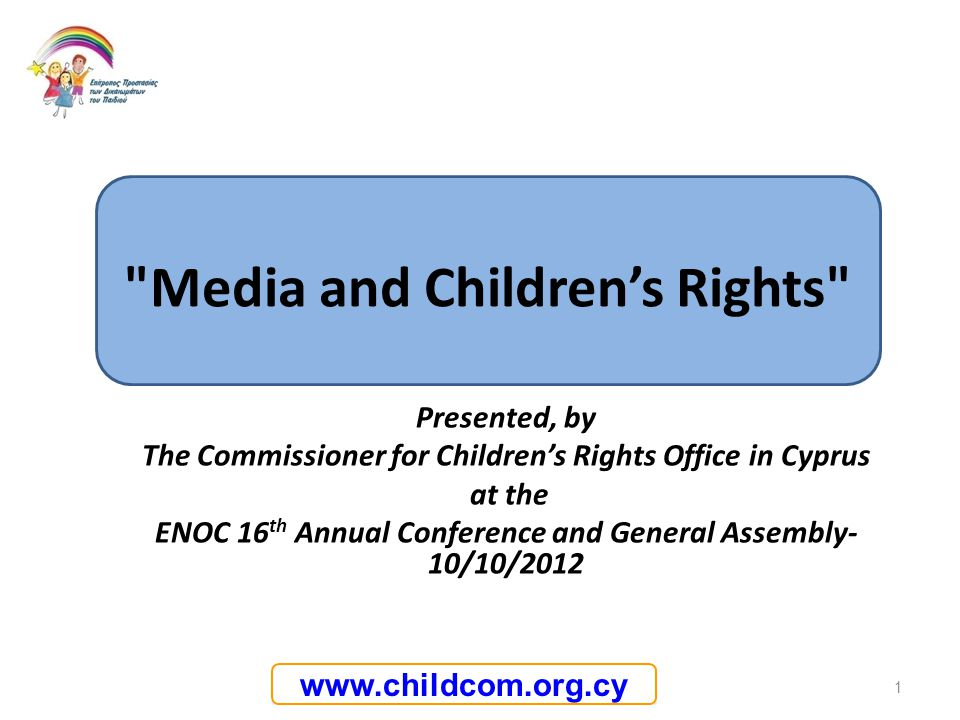 Media and Children's Rights