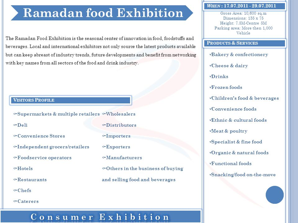 Ramadan food Exhibition