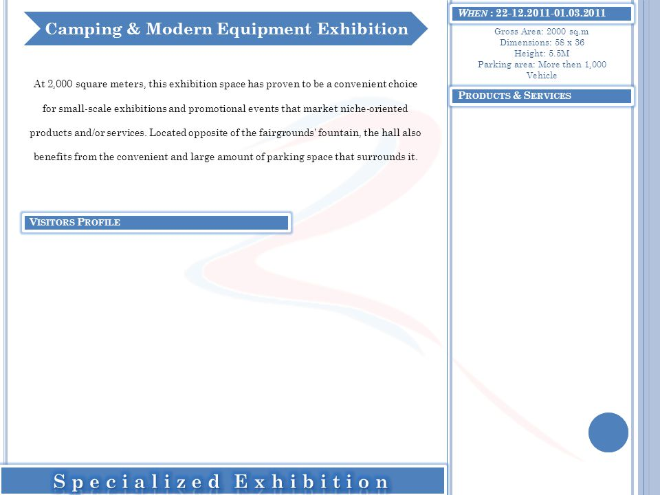 Camping & Modern Equipment Exhibition