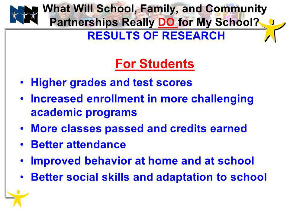 Higher grades and test scores