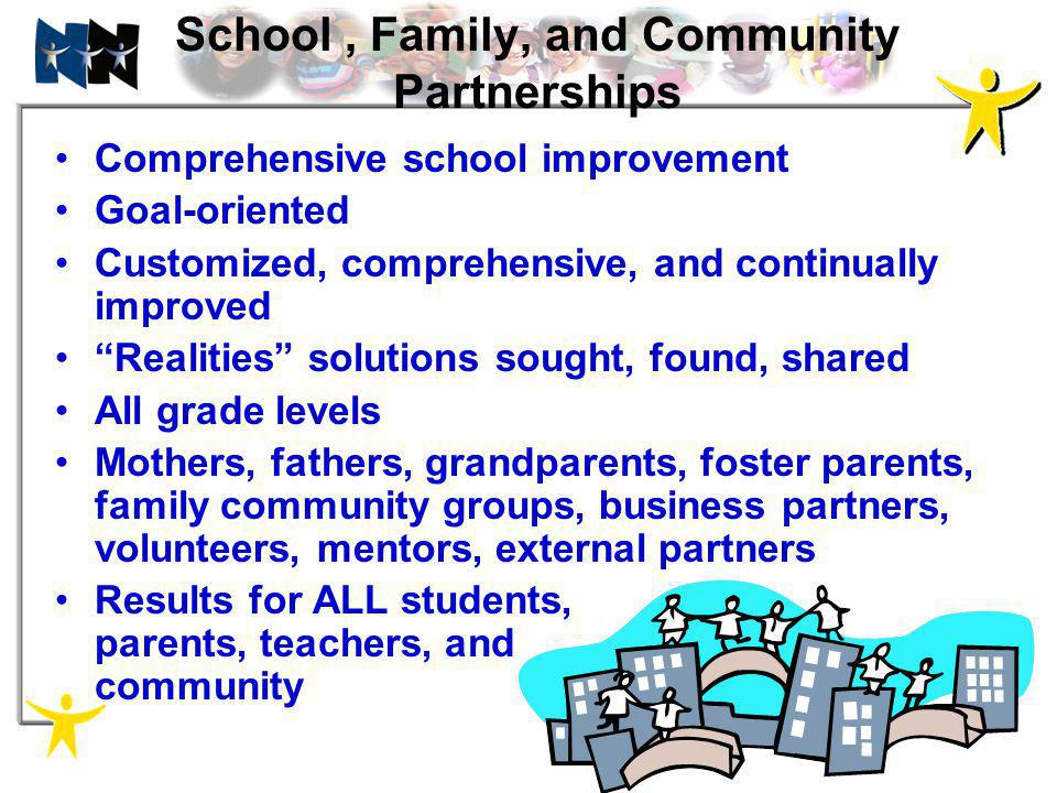 School , Family, and Community Partnerships