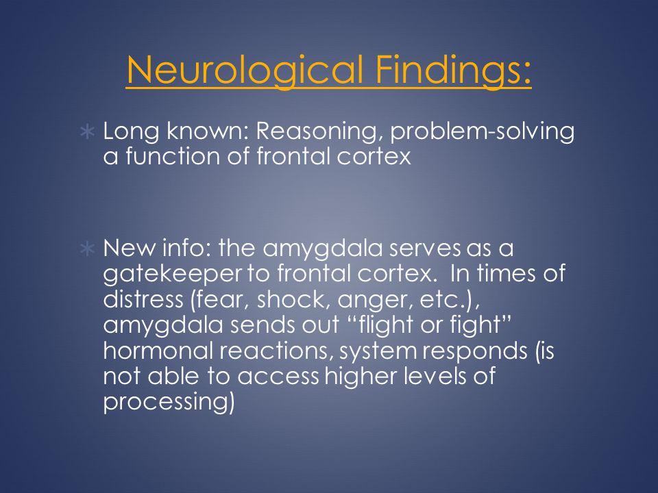 Neurological Findings: