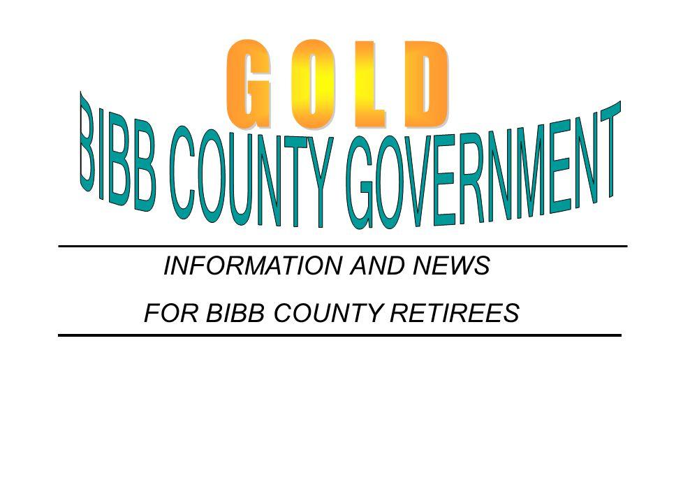 BIBB COUNTY GOVERNMENT