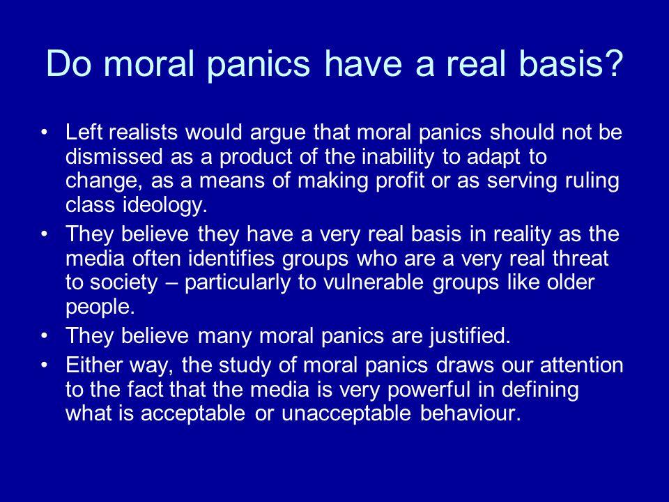 Do moral panics have a real basis