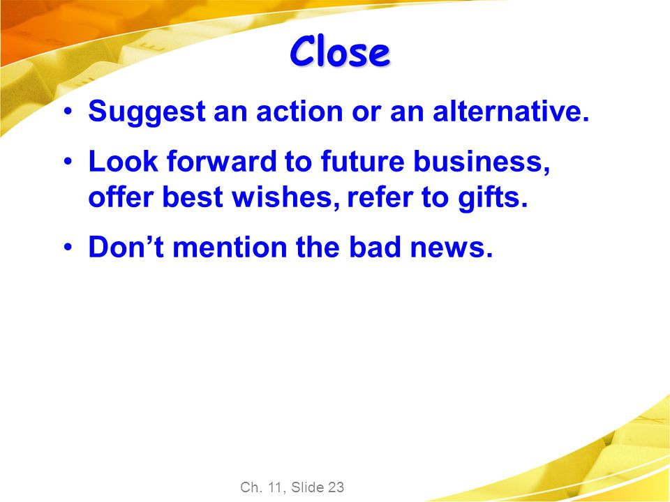 Close Suggest an action or an alternative.
