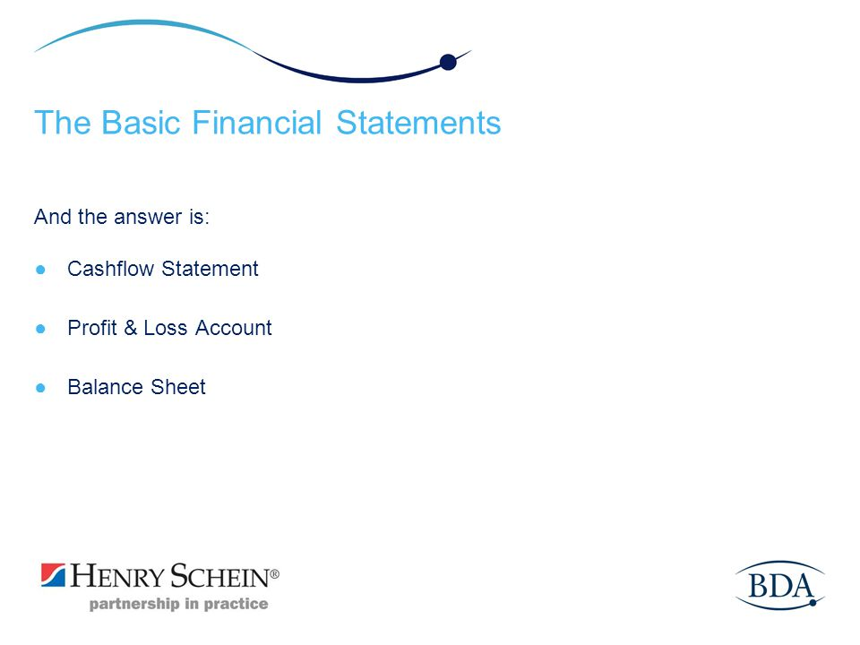 The Basic Financial Statements