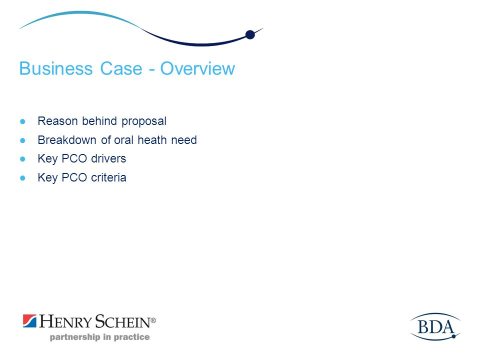 Business Case - Overview