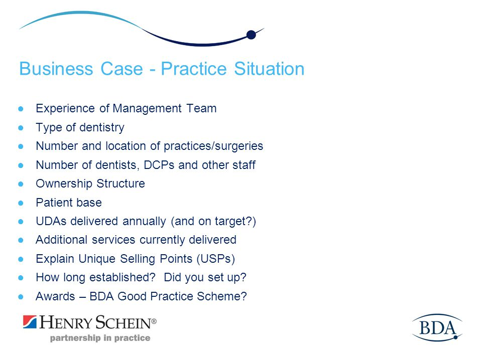 Business Case - Practice Situation