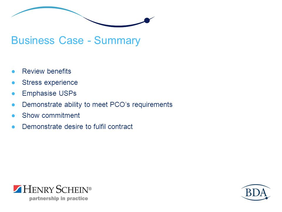 Business Case - Summary
