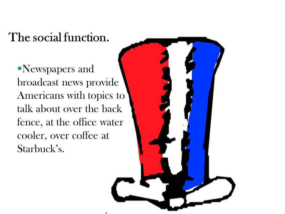 The social function.
