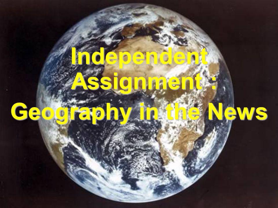 Independent Assignment :