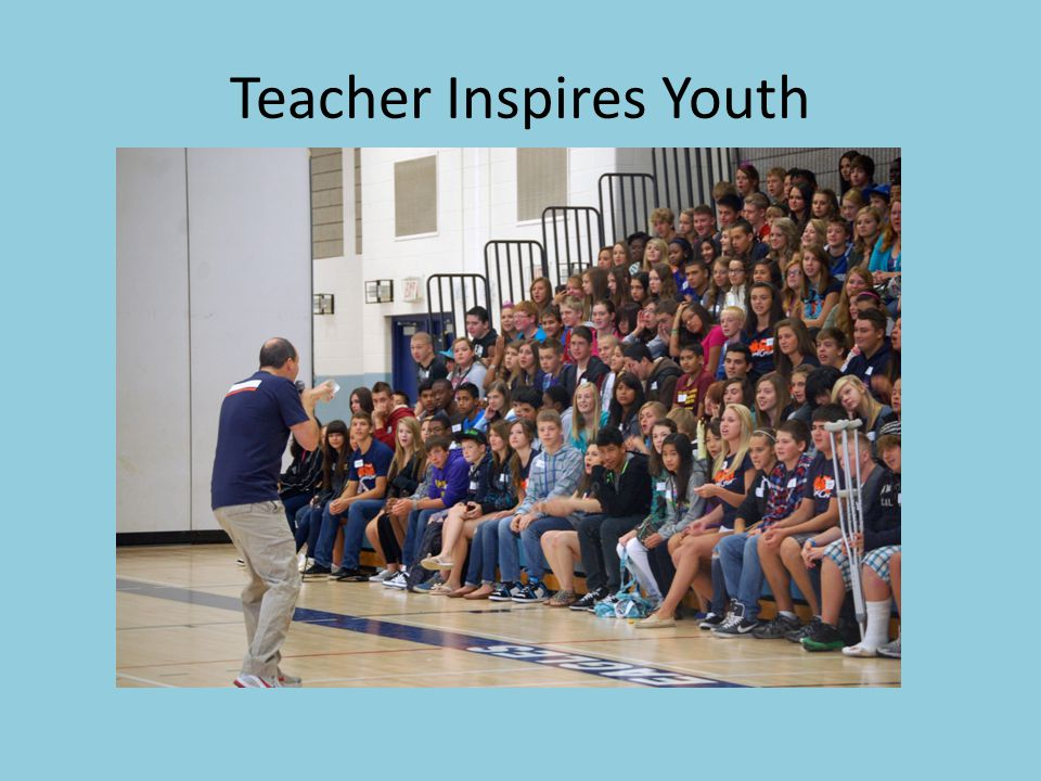 Teacher Inspires Youth