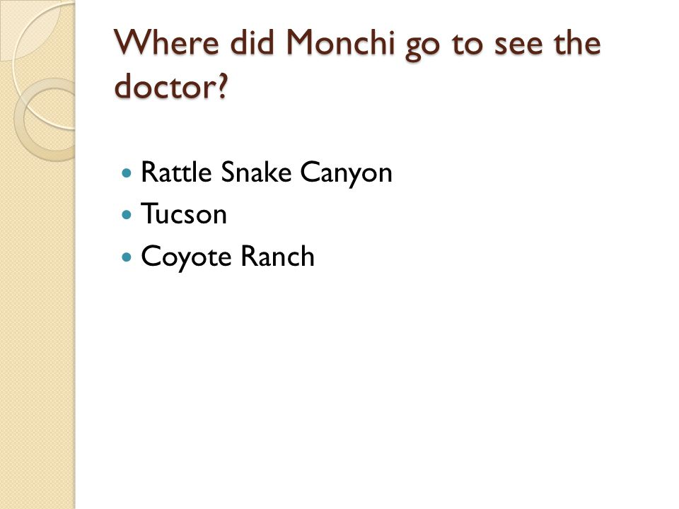 Where did Monchi go to see the doctor
