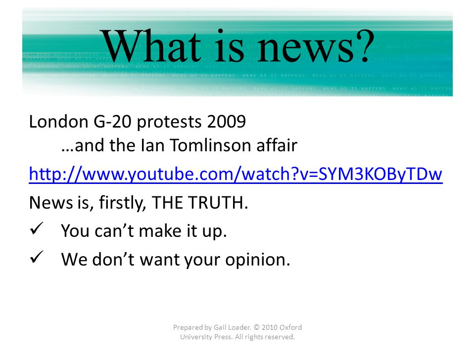 What is news London G-20 protests 2009 …and the Ian Tomlinson affair
