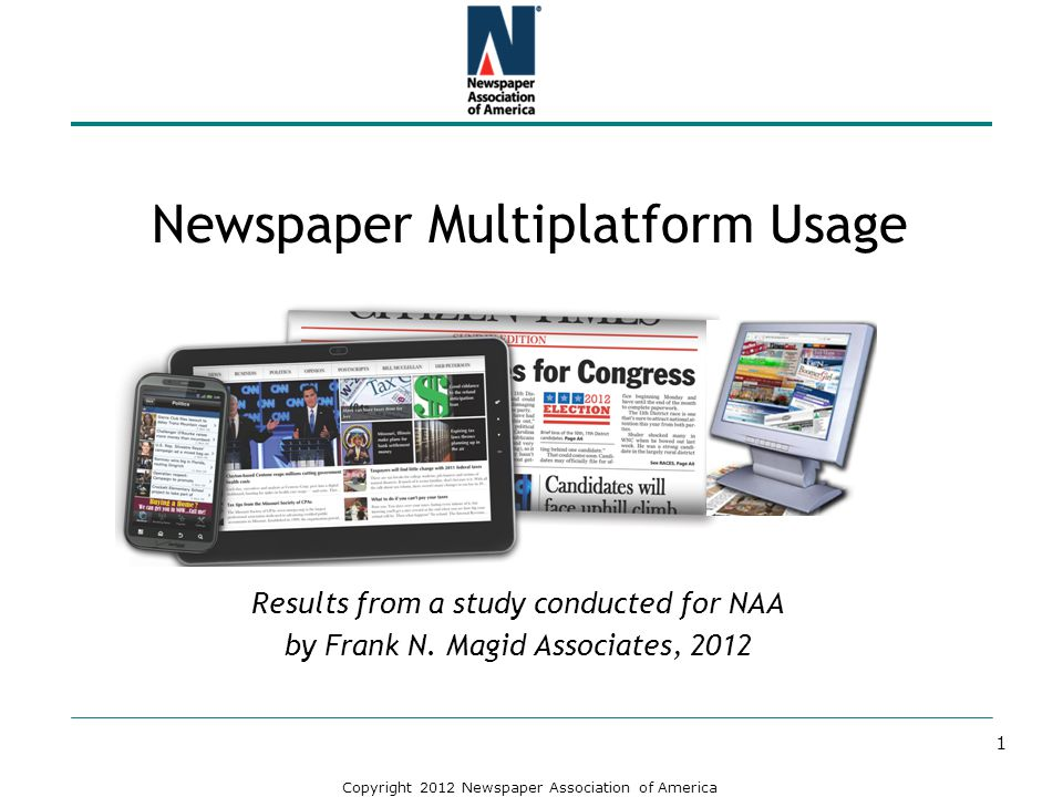 Newspaper Multiplatform Usage