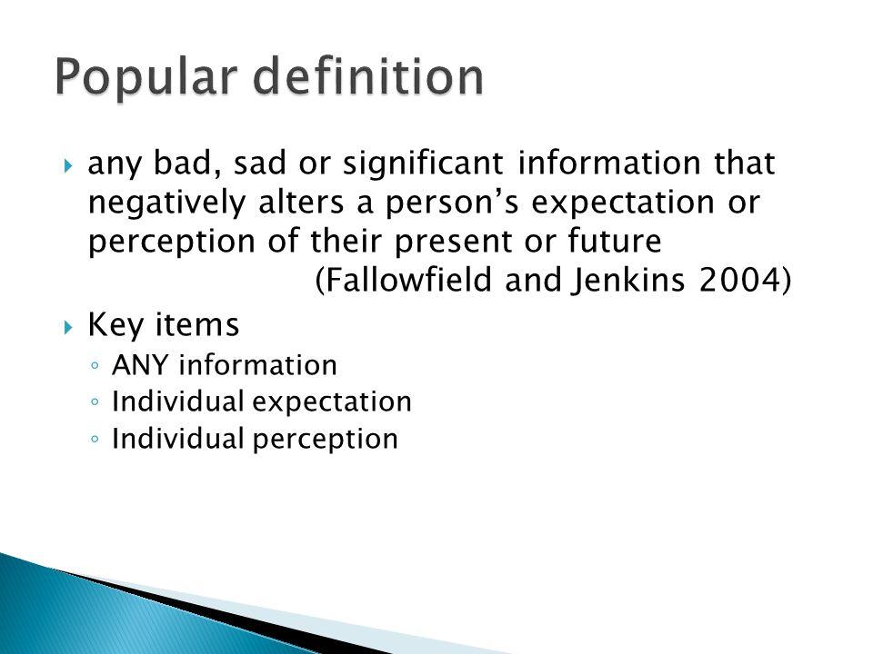 Popular definition