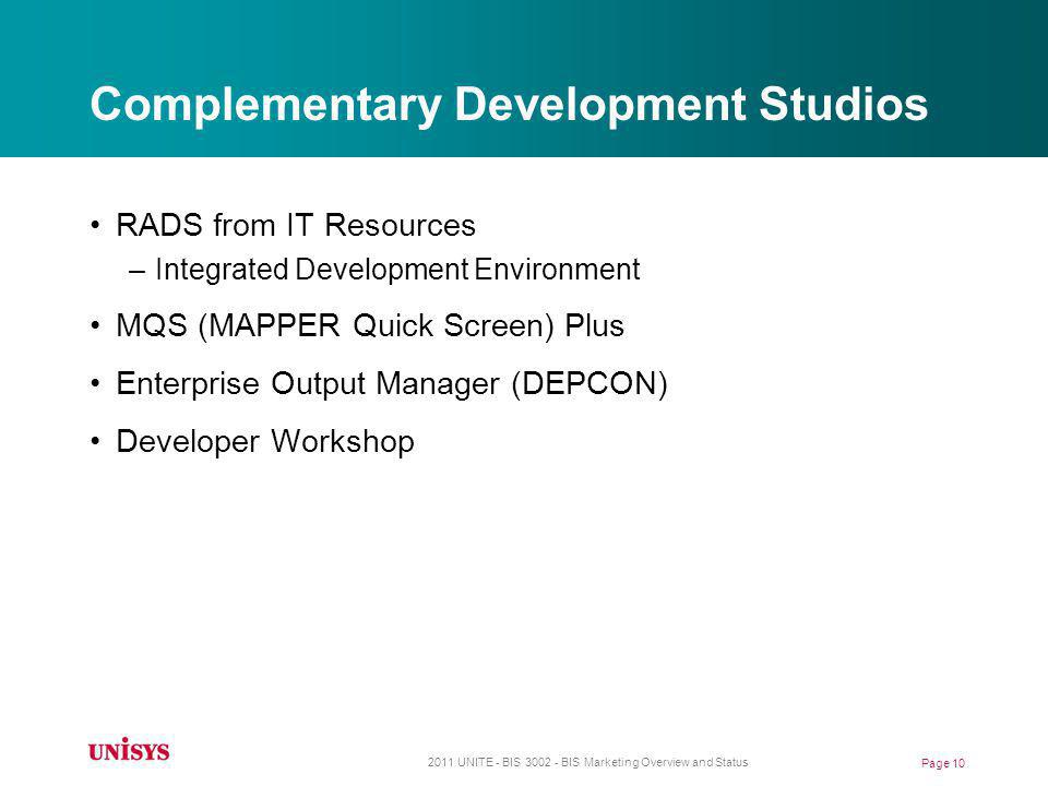 Complementary Development Studios