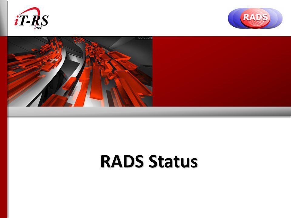 RADS Status
