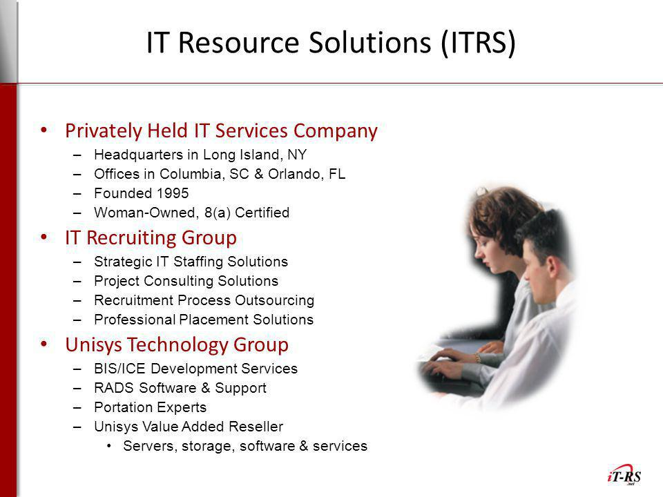 IT Resource Solutions (ITRS)