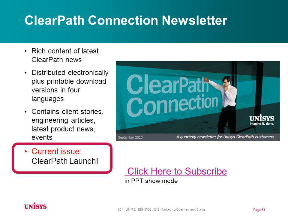 ClearPath Connection Newsletter