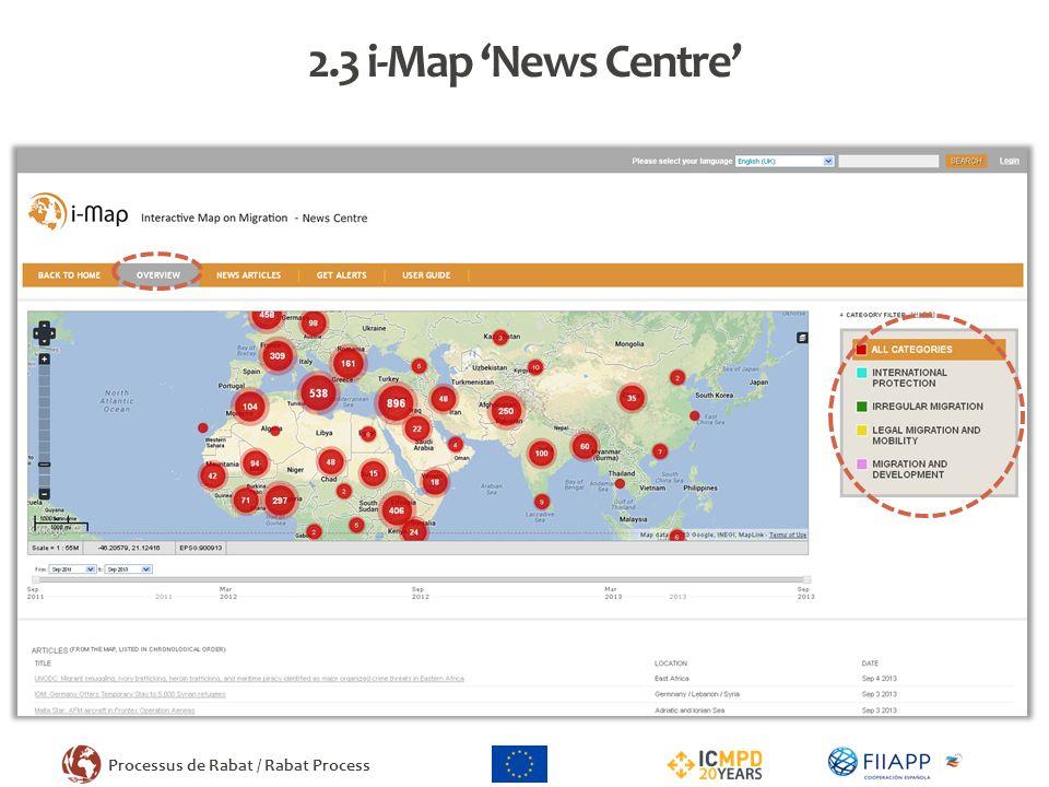 2.3 i-Map 'News Centre'