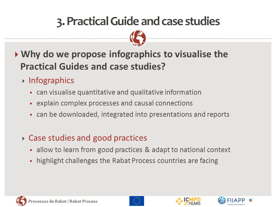 3. Practical Guide and case studies