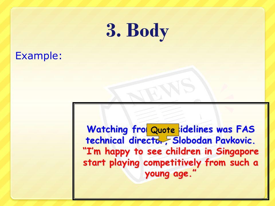 3. Body Example: