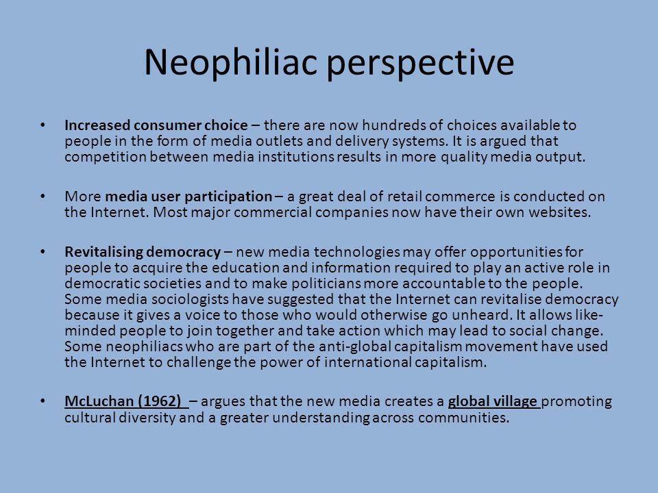 Neophiliac perspective