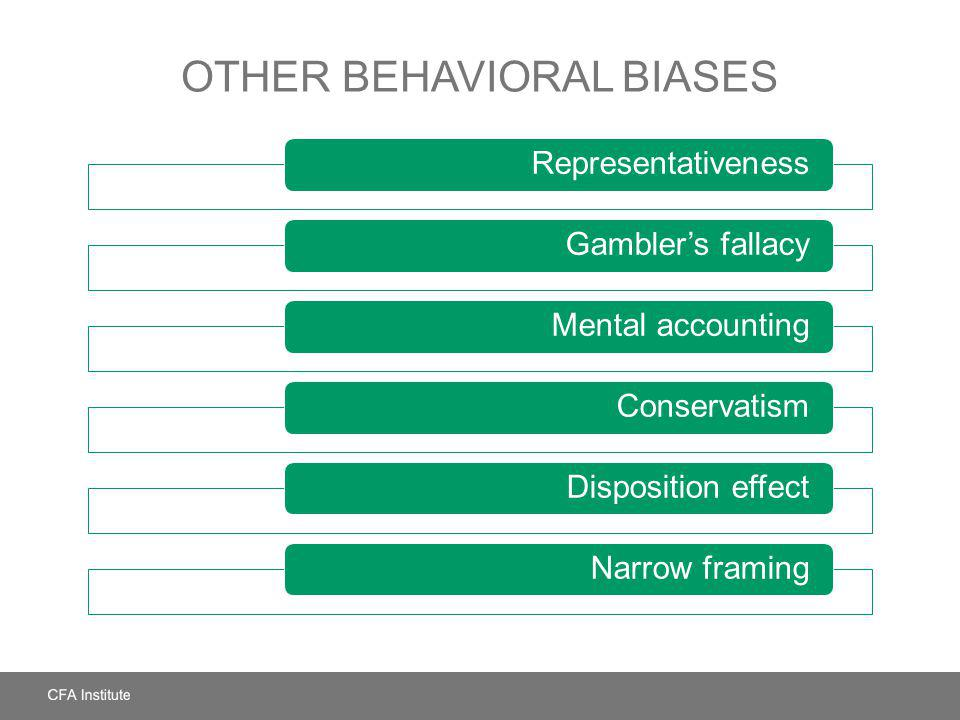 Other Behavioral Biases
