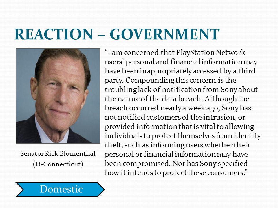 Senator Rick Blumenthal
