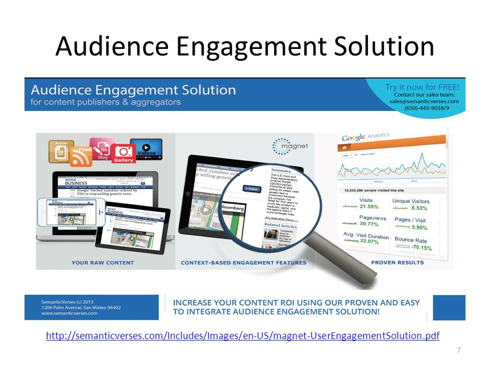 Audience Engagement Solution