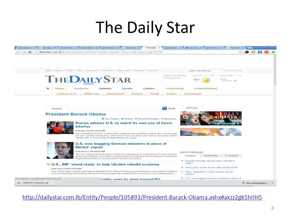 The Daily Star http://dailystar.com.lb/Entity/People/105893/President-Barack-Obama.ashx#axzz2gk5hrlH5.